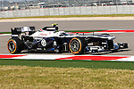 VALTTERI BOTTAS (17) driver of the Williams Renault in action during the Formula 1 United States Grand Prix practice session at the Circuit of the Americas race track in Austin,Texas.
