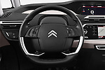 Car pictures of steering wheel view of a 2018 Citroen C4 Spacetourer Business + 5 Door MPV