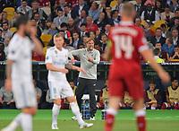 26.05.2018,  Football UEFA Champions League Finale 2018, Real Madrid - FC Liverpool, Olympiastadium Kiew (Ukraine). Trainer Juergen Klopp (mi., FC Liverpool)  *** Local Caption *** © pixathlon<br /> <br /> Contact: +49-40-22 63 02 60 , info@pixathlon.de