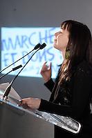 Montreal (QC) CANADA, April 3 , 2007<br />  l'auteure-compositeur-interprète, comédienne et porte-parole provinciale<br />                             Madame Viviane Audet au <br /> lancement du premier projet de sensibilisation d'envergure provinciale<br />     la Marche de la mémoire RONA organisée par la Fédération québécoise des<br />                              sociétés Alzheimer. en présence de<br />     l'auteure-compositeur-interprète, comédienne et porte-parole provinciale<br />                             Madame Viviane Audet,<br />     Monsieur Bruno Labrie (ex-académicien, auteur-compositeur-interprète),<br />                  Madame Joe Bocan (chanteuse et comédienne),<br />                      Monsieur Emmanuel Auger (comédien),<br />     Monsieur Michel Dumont, directeur artistique de la Compagnie Jean Duceppe<br />                depuis 1991, figure de proue du milieu culturel<br />       ainsi que de nombreuses personnalités du milieu artistique et des<br />                                   affaires.<br /> <br /> <br /> <br /> <br /> <br /> photo (c)  Pierre Roussel - Images Distribution