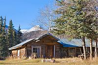 Historic Log Cabin, Wiseman, Alaska