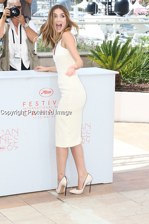 Cannes France May 16 2016 Ana de Armas attends Hands of Stone Photocall Palais des Festival During the 69th Annual Cannes Film Festival