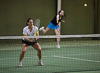 Hilversum, The Netherlands, 05.03.2014. NOVK ,National Indoor Veterans Championships of 2014, women's doubles, <br /> Photo:Tennisimages/Henk Koster