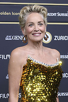 Sharon Stone at the Golden Eye Awards ceremony at the 17th Zurich Film Festival 2021 in the Corso cinema. Zurich, September 25, 2021. Credit: Action Press/MediaPunch **FOR USA ONLY**