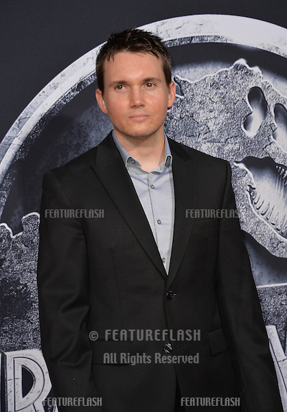 """Screenwriter Derek Connolly at the world premiere of his movie """"Jurassic World"""" at the Dolby Theatre, Hollywood.<br /> June 10, 2015  Los Angeles, CA<br /> Picture: Paul Smith / Featureflash"""