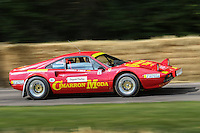 Christopher Wilson driving his 1978 Ferrari 308 GTB 3 litre V8 rally car at Goodwood Festival of Speed 2016 at Goodwood, Chichester, England on 24 June 2016. Photo by David Horn / PRiME Media Images