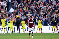 3rd October 2021;   City of London Stadium, London, England; EPL Premier League football, West Ham versus Brentford; A dejected Saïd Benrahma of West Ham United after Yoane Wissa of Brentford sores for 1-2 in the 94th minute