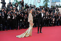 Olivia Palermo et Johannes Huebl .Cannes 24/5/2013 .Festival del Cinema di Cannes .Foto Panoramic / Insidefoto .ITALY ONLY