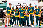 Players of South Africa Team celebrate as they win the match during Day 2 of Hong Kong Cricket World Sixes 2017 Award Presentation at Kowloon Cricket Club on 29 October 2017, in Hong Kong, China. Photo by Vivek Prakash / Power Sport Images
