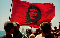 Genova / Italia - 20 luglio 2001.Manifestazione contro il G8..Foto Livio Senigalliesi