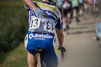 race number #13 worn by Stijn Steels (BEL/Topsport Vlaanderen - Baloise)<br /> <br /> 91th Schaal Sels 2016