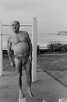 Morning daily exercising. Bondi beach, Sydney Australia. 2000.