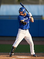 IMG Academy Ascenders Jackson Werth (16) bats during a game against the Montverde Academy Eagles on April 8, 2021 at IMG Academy in Bradenton, Florida.  (Mike Janes/Four Seam Images)