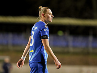 Ella van Kerkhoven (3) of AA Gent pictured during a female soccer game between FC Femina White Star Woluwe and AA Gent Ladies on the 13 th matchday of the 2020 - 2021 season of Belgian Scooore Womens Super League , friday 5 th of February 2021  in Woluwe , Belgium . PHOTO SPORTPIX.BE | SPP | SEVIL OKTEM