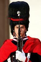 Italian Military Corp of Granatieri di Sardegna<br /> Rome January 24th 2020. Palazzo Chigi. The Italian Premier meets the President of the Republic of Iraq.<br /> Foto Samantha Zucchi Insidefoto