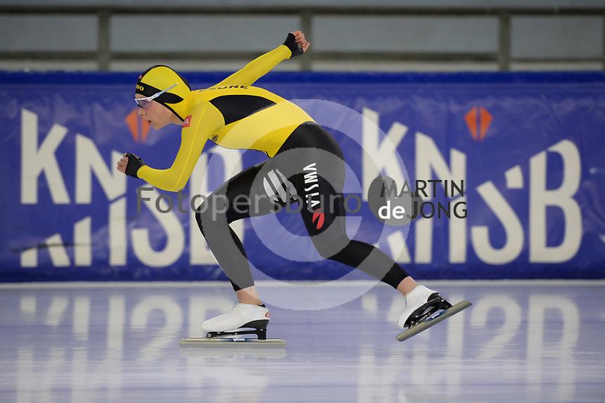 SCHAATSEN: HEERENVEEN, IJsstadion Thialf, 02-10-2020, TEAM JUMBO/VISMA, Joy Beune, ©foto Martin de Jong
