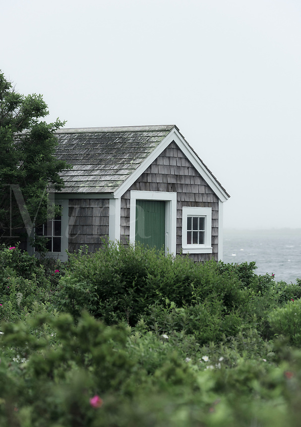 Charming seaside cottage, Cape Cod, Massachusetts, USA.