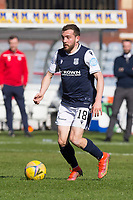 3rd April 2021; Dens Park, Dundee, Scotland; Scottish FA Cup Football, Dundee FC versus St Johnstone; Paul McMullan of Dundee on the ball