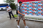 Spainsh Alvaro Morata  arriving at the concentration of the spanish national football team in the city of football of Las Rozas in Madrid, Spain. August 28, 2017. (ALTERPHOTOS/Rodrigo Jimenez)