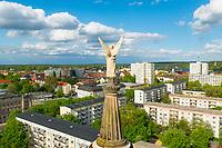 Blick von der Kuppel der Nikolaikirche,  Potsdam, Brandenburg, Deutschland