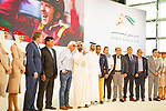 DUBAI,UNITED ARAB EMIRATES-MARCH 28: Dubai World Cup Post Position Draw at Meydan racecourse on March 28,2018 in Dubai,United Arab Emirates (Photo by Kaz Ishida/Eclipse Sportswire/Getty Images)