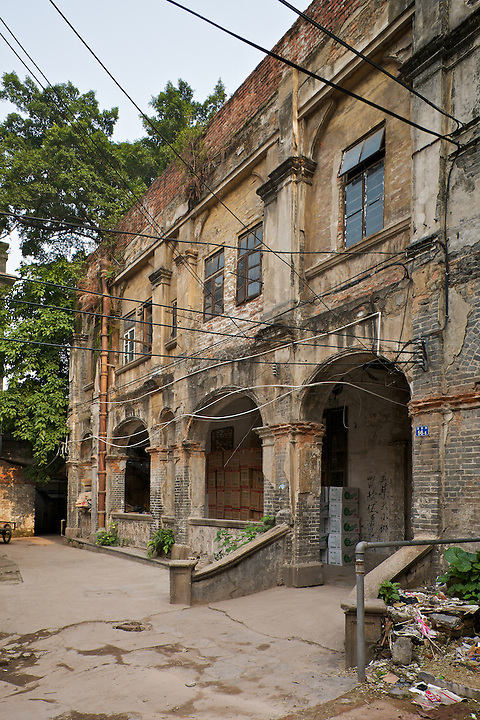Bishop's House (Prior to Restoration In 2010), Sacred Heart Roman Catholic Cathedral, Guangzhou (Canton).