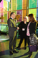 Parti Quebecois leader Pierre-Karl peladeau ,<br /> Claude Legault, Leader, Coalition Avenir Quebec,<br /> Francoise David Quebec Solidaire and<br /> Lise Payette attend<br /> the Women's Summit in Montreal, March 4, 2016.<br /> <br /> <br /> Photo : Pierre Roussel<br />  - Agence Quebec Presse<br /> <br /> <br /> <br /> <br /> <br /> <br /> <br /> <br /> <br /> <br /> <br /> .