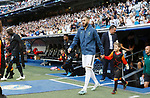 Real Madrid CF's Karim Benzema during UEFA Champions League match, groups between Real Madrid and Club Brugge at Santiago Bernabeu Stadium in Madrid, Spain. October 01, 2019.(ALTERPHOTOS/Manu R.B.)