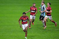25th August 2021; Arena do Gremio, Porto Alegre, Brazil; Copa Do Brazil, Gremio versus Flamengo; Vitinho of Flamengo celebrates his goal in the 97th minute for 4-0