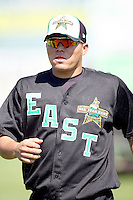 June 24, 2009: Bayron Zepeda of the South Bend Silver Hawks at the 2009 Midwest League All Star Game at Alliant Energy Field in Clinton, IA.  Photo by: Chris Proctor/Four Seam Images