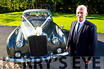 Tom Horan of Horan's Wedding Cars with one of his wedding cars