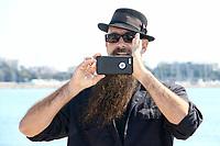 Brother DJ lors de son photocall pour WRENCH WARS pendant le MIPTV a Cannes, le lundi 3 avril 2017.