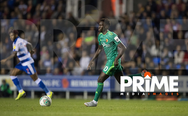 Domingos Quina of Watford during the Carabao Cup Round 2 match between Reading and Watford at the Madejski Stadium, Reading, England on 29 August 2018. Photo by Andy Rowland