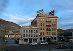 The historic Mizpah Hotel, in Tonapah, Nev., on Monday, March 19, 2018. <br /> Photo by Cathleen Allison/Nevada Momentum