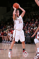 10 January 2008: Jillian Harmon during Stanford's 81-45 win over Oregon State at Maples Pavilion in Stanford, CA.