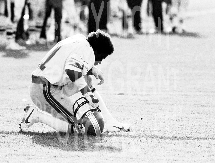 James Sykes Calgary Stampeders 1982. Photo Scott Grant