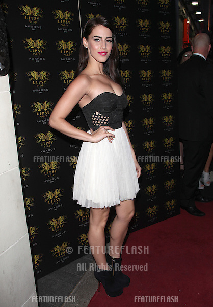 Jessica Lowndes arriving for the Lipsy Fashion Awards,  at Dstrkt, London. 29/05/2013 Picture by: Alexandra Glen / Featureflash
