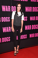 """Lucy Watson<br /> arrives for the """"War Dogs"""" premiere at the Picturehouse Central, London.<br /> <br /> <br /> ©Ash Knotek  D3144  11/08/2016"""