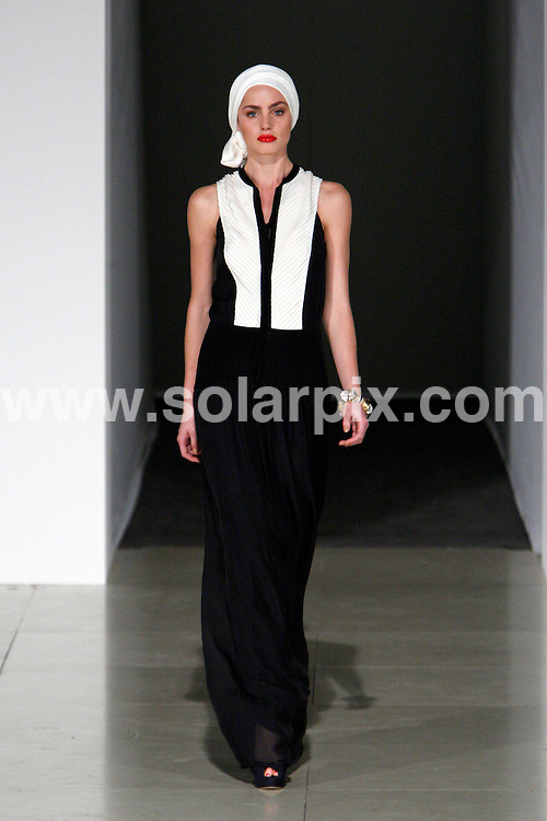 **ALL ROUND PICTURES FROM SOLARPIX.COM**                                             **WORLDWIDE SYNDICATION RIGHTS**                                                                                  Caption: London Fashion Week catwalk  Runway Summer Season 2012  in London on 19 September 2011.                                                                               This pic:Temperley London SS2012 during the London Fashion Week at The British Museum                                                                                              JOB REF: 14005       MLW       DATE:19.09.2011                                                           **MUST CREDIT SOLARPIX.COM OR DOUBLE FEE WILL BE CHARGED**                                                                      **MUST AGREE FEE BEFORE ONLINE USAGE**                               **CALL US ON: +34 952 811 768 or LOW RATE FROM UK 0844 617 7637**