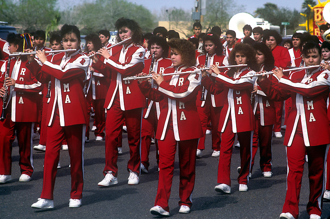 Marching Band, Citrus Fiesta, Mission, Texas