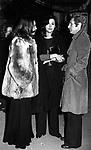 PAOLA GASSMAN CON UGO PAGLIAI E DILETTA D'ANDREA<br /> PREMIO MASCHERA D'ARGENTO SERATA A VILLA MIANI ROMA 1971