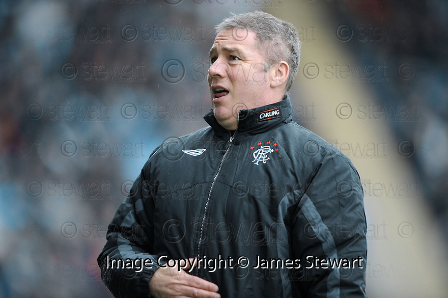 05/12/2009  Copyright  Pic : James Stewart.sct_jspa28_falkirk_v_rangers  . :: RANGERS ASSISTANT MANAGER ALLY MCCOIST MAKES HIS FEELINGS KNOWN TO THE FALKIRK FANS ABOUT CHRIS BOYD'S BOOKING FOR HIS CELEBRATION :: .James Stewart Photography 19 Carronlea Drive, Falkirk. FK2 8DN      Vat Reg No. 607 6932 25.Telephone      : +44 (0)1324 570291 .Mobile              : +44 (0)7721 416997.E-mail  :  jim@jspa.co.uk.If you require further information then contact Jim Stewart on any of the numbers above.........