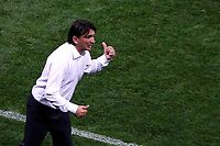 MOSCU - RUSIA, 11-07-2018: Zlatko DALIC técnico de Croacia durante partido de Semifinales contra de Inglaterra por la Copa Mundial de la FIFA Rusia 2018 jugado en el estadio Luzhnikí en Moscú, Rusia. / Zlatko DALIC coach of Croatia during match of Semi-finals for the FIFA World Cup Russia 2018 played at Luzhniki Stadium in Moscow, Russia. Photo: VizzorImage / Julian Medina / Cont
