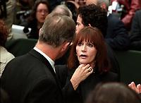 Les funerailles de Pierre Trudeau le 10 Octobre 2000, a la Basilique Notre-Dame<br /> <br /> <br /> PHOTO :  Agence Quebec Presse