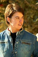 Nathalie Cartier of Mas de Gourgonnier, in Les Baux de Provence, Bouche du Rhone, France