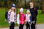 Enjoying a stroll in Killarney National park on Sunday, l to r: Olivia Michniak, Alexandra Gorzya and Mia and Joanna Michaka.