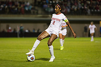 STANFORD, CA - NOVEMBER 22: Stanford, CA - November 22, 2019: Naomi Girma at Laird Q. Cagan Stadium. The Stanford Cardinal defeated Hofstra 4-0 in the second round of the NCAA tournament. during a game between Hofstra and Stanford Soccer W at Laird Q. Cagan on November 22, 2019 in Stanford, California.