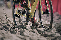 plowing through the sand<br /> <br /> CX Brico Cross Eeklo 2017 (BEL)