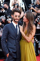"""CANNES, FRANCE - JULY 17: Pierre Niney, Natasha Andrews at the final screening of """"OSS 117: From Africa With Love"""" and closing ceremony during the 74th annual Cannes Film Festival on July 17, 2021 in Cannes, France. <br /> CAP/GOL<br /> ©GOL/Capital Pictures"""