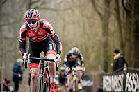 Michael Vanthourenhout (BEL/Pauwels Sauzen - Bingoal)<br /> <br /> Elite + U23 Men's Race<br /> CX GP Leuven (BEL) 2020<br />  <br /> ©kramon